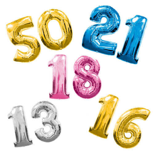 balloons-number-foil-40inch