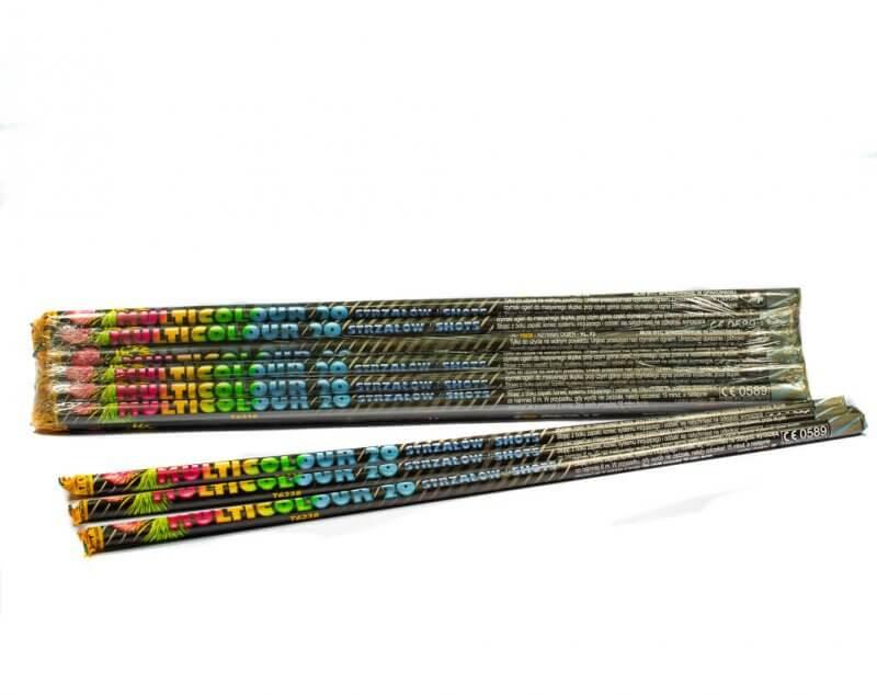 Μασουράκι - Magic Shots των 10 πολύχρωμων βολών.